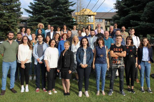 2018 PGI Participants Mavrovo, North Macedonia